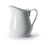 BIA Porcelain® Pitcher, White, 17 oz - 900145PC