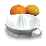 "BIA Porcelain® Citrus Juicer, White, 6"" - 904141WH"