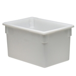 "Cambro® Camwear Poly Food Box, White, 18"" x 26"" x 15"" - 182615P148"