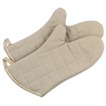 "Browne® Cotton Oven Mitts, 24"" - POM24"