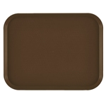 "Cambro® Tray, Brown,  14"" x 18"" - 1418FF167"