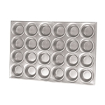 Browne® Aluminum Muffin/Cup Cake Pan, 24 Cup - 5811624