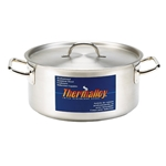 Browne® Thermalloy® Stainless Steel Brazier, 25Qt - 5724024
