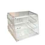 Johnson-Rose® Acrylic Pastry Display Case, 3 Trays - 41703