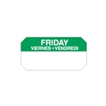 "Ecolab® SuperRemovable Day Labels, Friday, 2"" x 1"" - 10114-05-31"