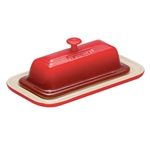 Le Creuset® Butter Dish, Red - PG0306-1967
