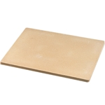 "American Metalcraft® Economy Pizza Stone, Rectangle, 15"" x 14"" - STONE14"
