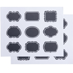 American Metalcraft® Chalkboard Stickers, Ornate, 2 pk - CSM18