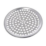 "Browne® Perforated Aluminum Pizza Pan, 15"" - 575355"