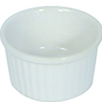 Browne® Porcelain Ramekin, White, 3 oz - 564024W