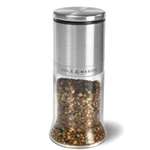 "Cole & Mason® Spice Mill, Glass/ Stainless Steel, 5.5"" - H101049SS"