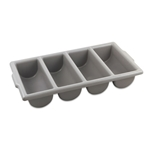 Browne® Cutlery Box, 4-Compartment - 1990