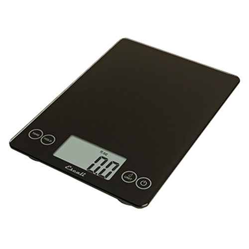Escali® Glass Digital Scale, Black - SCDG15BK