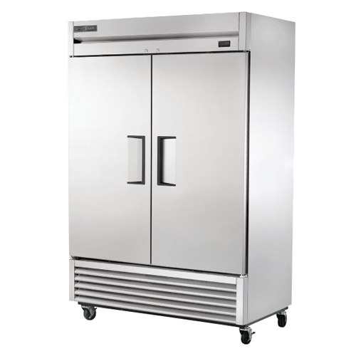 True® Two Door Reach-In Freezer, .5 HP, 49 CU FT - T-49-HC