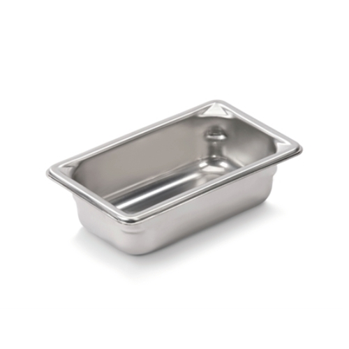 "Vollrath® Super Pan V™ Stainless Steel Steam Pan, 1/9 Size, 2"" Deep - 30922"
