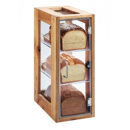 "Cal-Mil® Madera 3 Bin Vertical Bread Display, 20.5"" - 1204-99Cal-Mil® Madera 3 Bin Vertical Bread Display, 20.5"" - 1204-99"