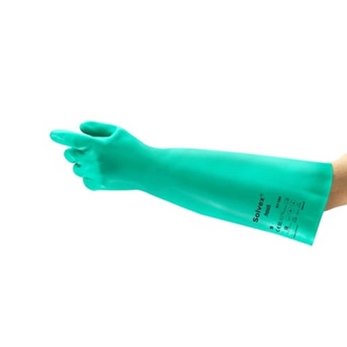 "Regional Safety Inc®  Nitrile 18"" Gloves, Small (PR) - 37-185(S)"