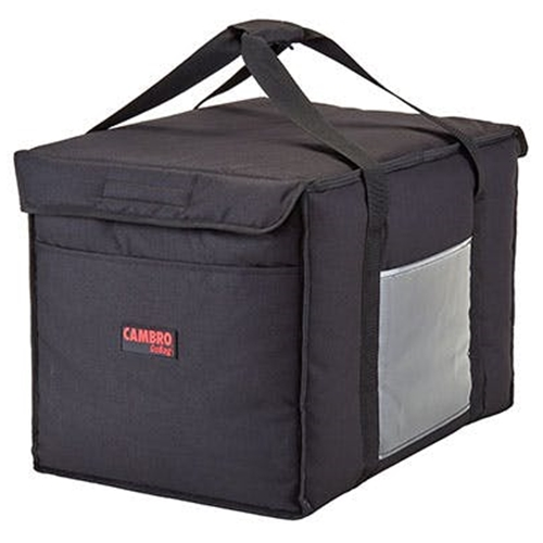 Cambro® GoBag™ Large Delivery Bag, Black (4) - GBD211414110Cambro® GoBag™ Large Delivery Bag, Black (4) - GBD211414110