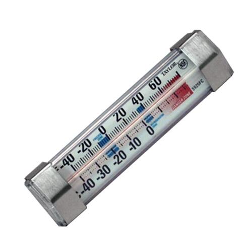 Taylor Horizontal Fridge/Freezer Thermometer