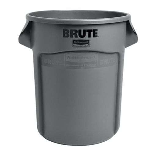 Rubbermaid® BRUTE Container 20 Gal, Gray - FG262000GRAYPoubelle BRUTE® 20 Gal, grise