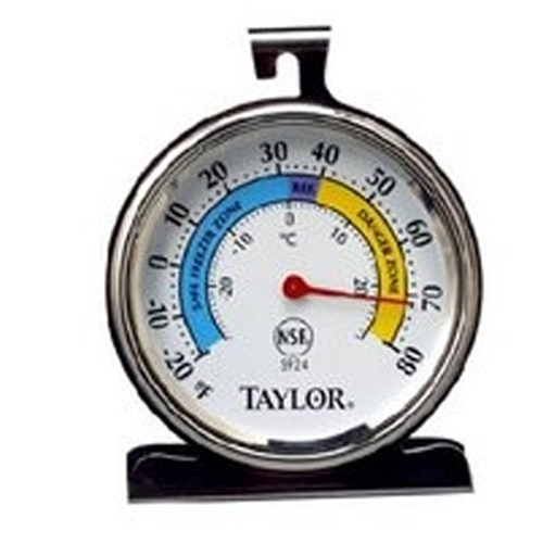 Taylor Horizontal Fridge/Freezer Thermometer