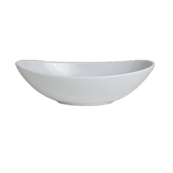 "Steelite® Varick Oval Bow, White, 6"" - 6900E586"