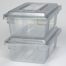 Rubbermaid® Food Box, Clear, 21.5 Gal - FG330100CLR