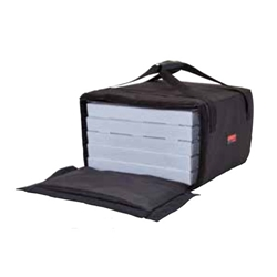 Cambro® GoBag™ Large Pizza Delivery Bag, Black (4) - GBP518110