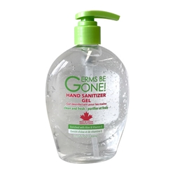 Germs Be Gone!® Hand Sanitizer Gel, 65% Ethyl Alcohol, 11.2 fl oz - HANDSANITIZER 330ML