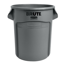 Rubbermaid® BRUTE Container 20 Gal, Gray - FG262000GRAY